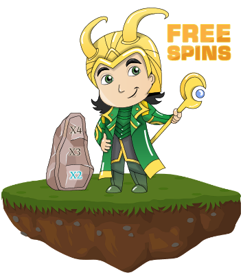 Loki and free spins